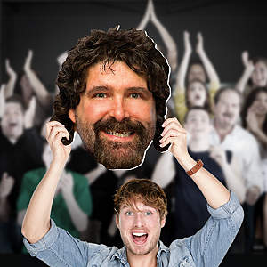 Mick Foley Big Head  Cut Out