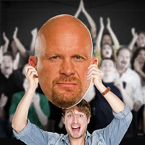 """Stone Cold"" Steve Austin Big Head  Cut Out"