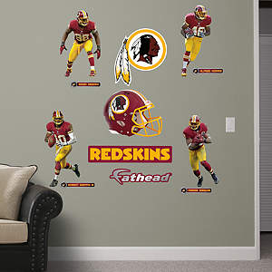 Washington Redskins Power Pack Fathead Wall Decal