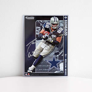 Autographed Jason Witten - 2009 NFL Fathead Tradeable Fathead Decal