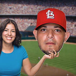 Yadier Molina Big Head Cut Out