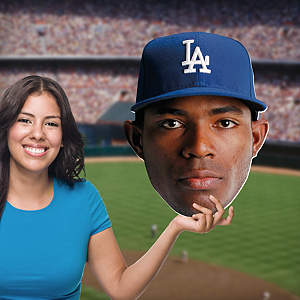 Yasiel Puig Big Head Cut Out
