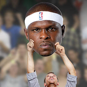 Zach Randolph Big Head Cut Out