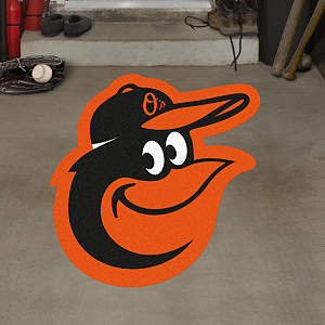 Baltimore Orioles Alternate Logo Street Grip Outdoor Graphic