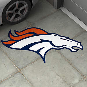 Denver Broncos Street Grip Outdoor Graphic