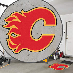 Calgary Flames Street Grip Outdoor Graphic