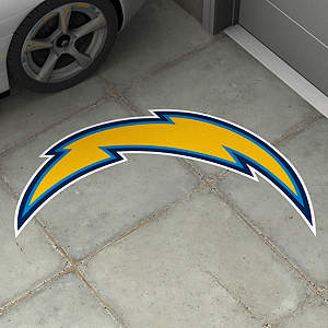 San Diego Chargers Street Grip Outdoor Graphic