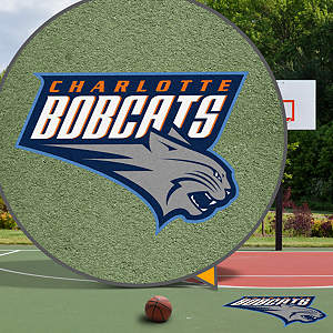Charlotte Bobcats Street Grip Outdoor Graphic