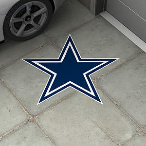 Dallas Cowboys Street Grip Outdoor Graphic