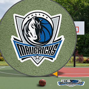Dallas Mavericks Street Grip Outdoor Graphic
