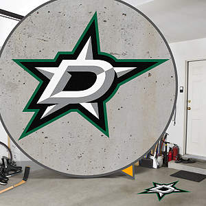 Dallas Stars Street Grip Outdoor Graphic