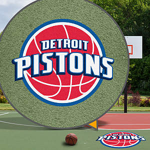 Detroit Pistons Street Grip Outdoor Graphic