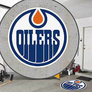 Edmonton Oilers Street Grip Outdoor Graphic