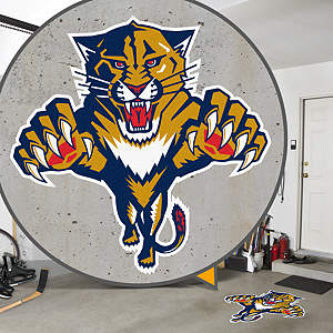 Florida Panthers Street Grip Outdoor Graphic
