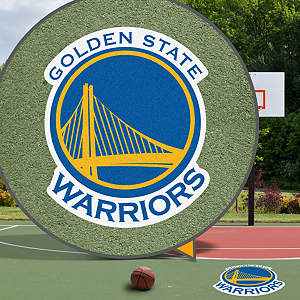 Golden State Warriors Street Grip Outdoor Graphic