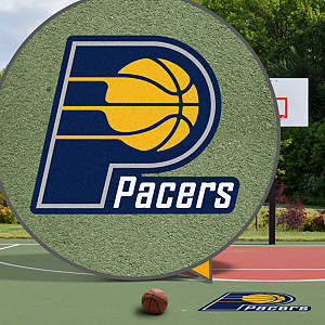 Indiana Pacers Street Grip Outdoor Graphic