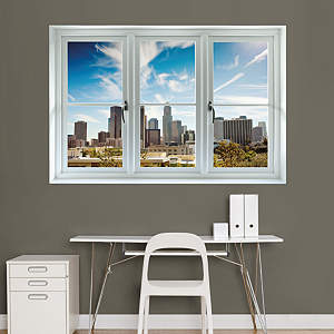 Los Angeles Skyline: Instant Window Fathead Wall Decal