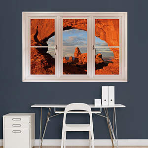 Arches National Park: Instant Window Fathead Wall Decal