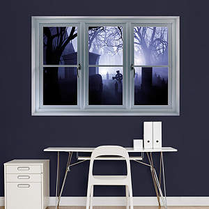 Graveyard: Instant Window Fathead Wall Decal
