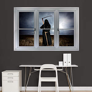 Grim Reaper: Instant Window Fathead Wall Decal