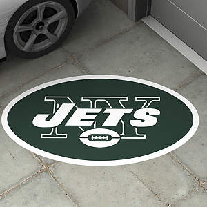 New York Jets Street Grip Outdoor Graphic