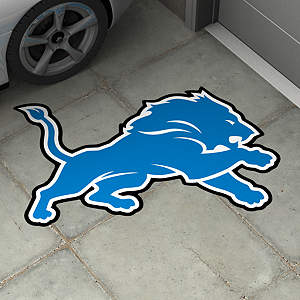 Detroit Lions Street Grip Outdoor Graphic