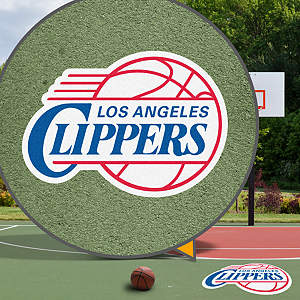 Los Angeles Clippers Street Grip Outdoor Graphic