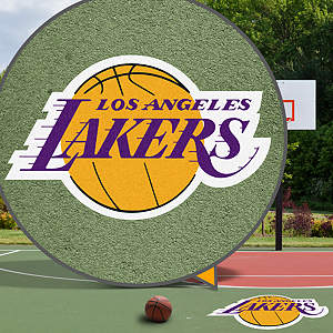 Los Angeles Lakers Street Grip Outdoor Graphic