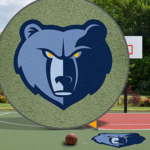 Memphis Grizzlies Street Grip Outdoor Graphic