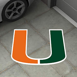 Miami Hurricanes Street Grip Outdoor Graphic