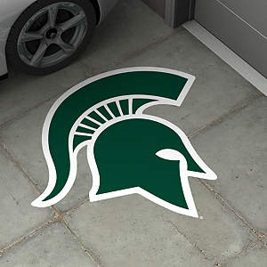 Michigan State Spartans Street Grip Outdoor Graphic