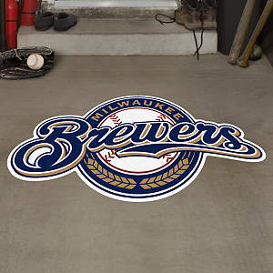 Milwaukee Brewers Street Grip Outdoor Graphic