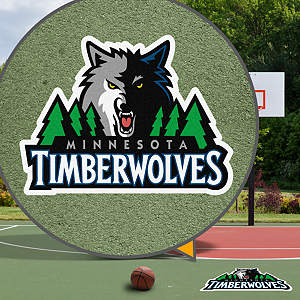 Minnesota Timberwolves Street Grip Outdoor Graphic
