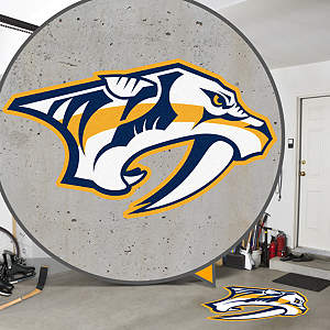 Nashville Predators Street Grip Outdoor Graphic