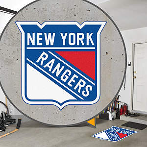 New York Rangers Street Grip Outdoor Graphic