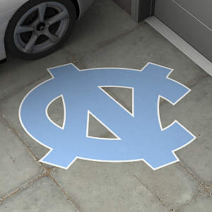 North Carolina Tar Heels Street Grip Outdoor Graphic