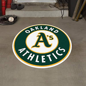 Oakland Athletics Street Grip Outdoor Graphic