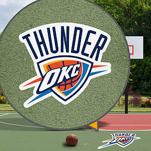 Oklahoma City Thunder Street Grip Outdoor Graphic