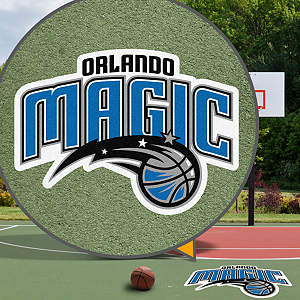 Orlando Magic Street Grip Outdoor Graphic