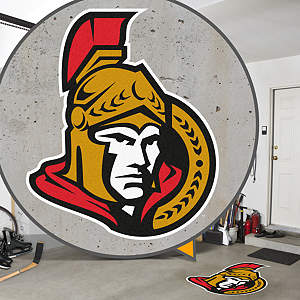 Ottawa Senators Street Grip Outdoor Graphic