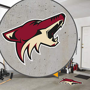 Phoenix Coyotes Street Grip Outdoor Graphic