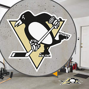 Pittsburgh Penguins Street Grip Outdoor Graphic
