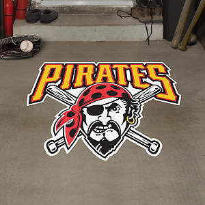 Pittsburgh Pirates Alternate Logo Street Grip Outdoor Graphic