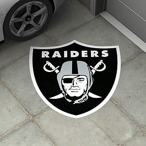 Oakland Raiders Street Grip Outdoor Graphic
