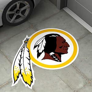 Washington Redskins Street Grip Outdoor Graphic