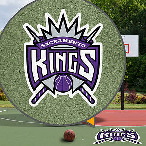 Sacramento Kings Street Grip Outdoor Graphic