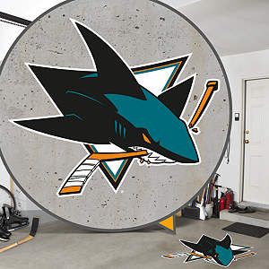 San Jose Sharks Street Grip Outdoor Graphic