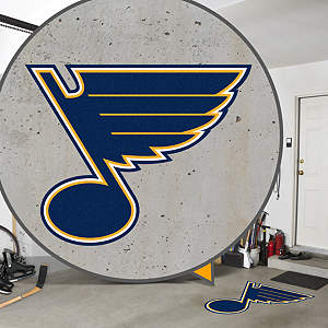 St. Louis Blues Street Grip Outdoor Graphic