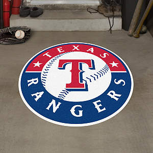 Texas Rangers Street Grip Outdoor Graphic