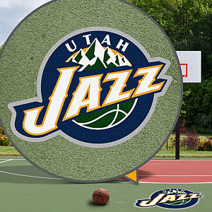 Utah Jazz Street Grip Outdoor Graphic